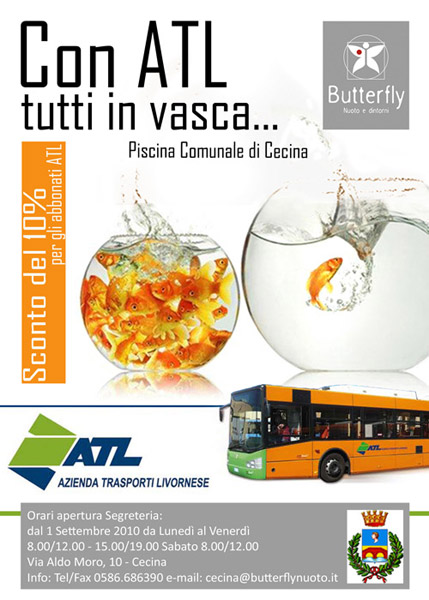 Butterfly - Piscina comunale cecina ...